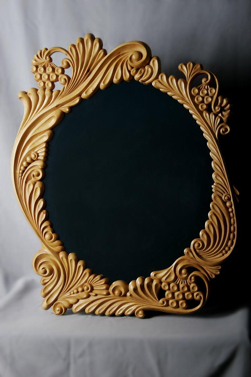 Вырезать зеркало своими руками 13